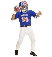** gonflable football américain étoiles casque party fancy dress prop sport neuf *