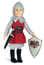 "Knight Outfit Sword & Shield for Carpatina 18"" Boy Dolls Stephan, Adam & Carter"