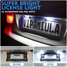 2X LED Rear License Number Plate Light BMW 1 6 Z Series E81 E87 E63 E64 Z4 Mini