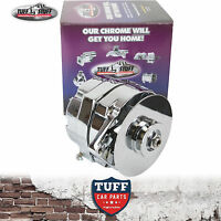 VH VK Holden Commodore 6 Cylinder Tuff Stuff Chrome Alternator 100 Amp Int Reg
