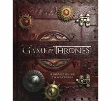 BRAND NEW Game of Thrones : A Pop-Up Guide to Westeros by Matthew Reinhart ...