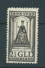1923TG Nederland Koningin Wilhelmina NR.130 postfris mooi zegel..