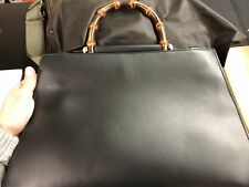 Gucci Borsa Bag Pelle Leather Borsa a mano Gucci Nymphaea media bamboo ‎453764