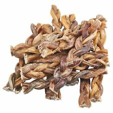 EcoKind Pet Treats - Braided Bully Sticks For Dogs - All Natural Dog