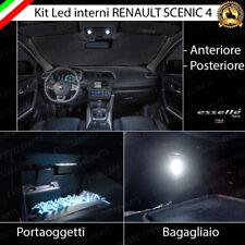 LED INTERNI ABITACOLO RENAULT SCENIC 4 ANTERIORE POSTERIORI LUCI CORTESIA CANBUS