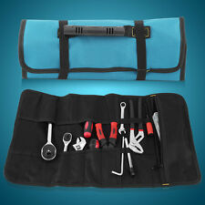 Portable Oxford Fabric Electrician Tool Bag 20 Pockets Roll Up Storage