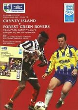 2001 FA TROPHY FINAL - CANVEY ISLAND v FOREST GREEN ROVERS