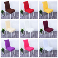 1/4/6pcs Dining Chair Cover Stretch Seat Cover Protector Slipcover Party Decor