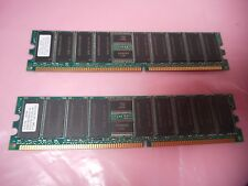 2x 512mb DDR-PC2100R-25330 266MHz Desktop/Server RAM