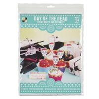 DAY OF THE DEAD KIT HALLOWEEN FIESTA MEXICAN PARTY DECORATION BOXES PICKS WRAPS