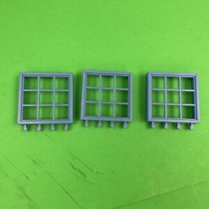 3 Rokenbok Cyan Window Frames