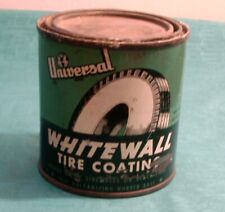Vintage Can Universal White Wall Tire Coating Side Walls  / Auto Car Camden N. J