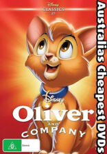 Oliver & Company DVD NEW, FREE POSTAGE WITHIN AUSTRALIA REGION 4