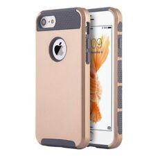 Fundas y carcasas Para iPhone 7 color principal oro de silicona/goma para teléfonos móviles y PDAs
