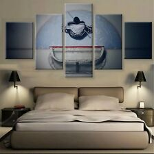 HD Printed Modern Abstract Oil Painting Wall Decor Art Huge - ice hockey puck
