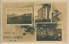 CARTOLINA d'Epoca  BERGAMO  - Costa Serina  1934