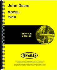 John Deere 2510 Tractor Service Manual Jd-S-Sm2070