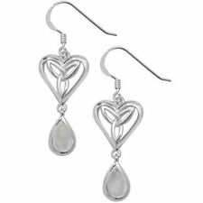 Moonstone Hook Sterling Silver Fine Earrings