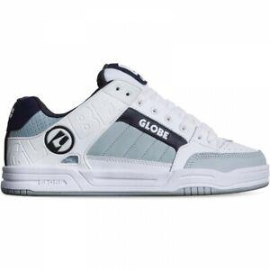 Globe Men's Tilt Skate Shoes White/Grey/Navy UK Sizes 8-13