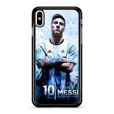 El mejor jugador de fútbol Lionel Messi Argentina número 10 Cubierta Estuche Teléfono