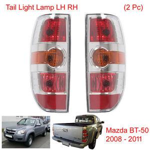 Pair Rear Tail Lamp LH RH 2 Pc Fits Mazda BT-50 BT50 Pickup 2008 2009 2010 2011