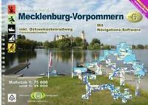 TourenAtlas Wasserwandern / TA6 Mecklenburg-Vorpommern Erhard Jübermann Buch