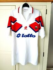 More details for linfield away shirt 1994. xl. original lotto. white adults football top only.