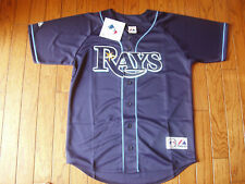 Tampa Bay Rays Alternate Navy Jersey w/Tags  Size XL (Adult)