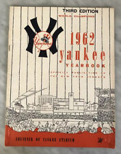 THIRD EDITION 1962 WORLD SERIES CHAMPS NEW YORK YANKEES YEARBOOK MICKEY MANTLE