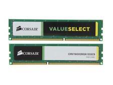CORSAIR 8GB DDR3 (1X 8GB) CMV16GX3M2A1333C9 PC3 10600U 1333  Desktop Memory Ram