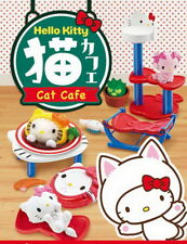 Re-ment Sanrio Hello Kitty Cat Cafe Rement miniature RARE Full set of 8 RARE NOW