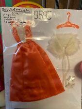Nm/Mint 1975 Barbie Htf Get Ups N Go Sleek Formal in Satin N Fur Outfit #9595