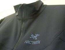 Arcteryx Gamma Lt Veste Taille moyenne M ARC 'TERYX Noir Softshell Full Zip Top
