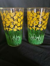 SWANKY SWIG Yellow Daffodils, Juice Glass