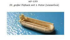 MGM 060-133 1/72 Resin WWII German Large Inflatable Raft-Single Motor- Waterline