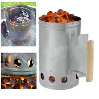 Illuminazione istantanea CARBONE per Barbecue aprire IL FUOCO All/'aperto Cucina Luce il sacchetto 4X1KG