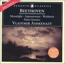 Beethoven: The Moonlight, Appassionata & Waldstein Piano Sonatas (CD, London)