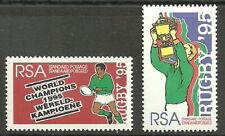 Südafrika - Rugby-Weltmeisterschaft Satz postfrisch 1995 Mi. 960-961