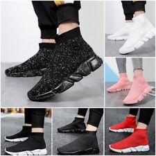 Breathable Running Shoes Men Lightweight Socks Sneakers Women Casual Sports Shoe