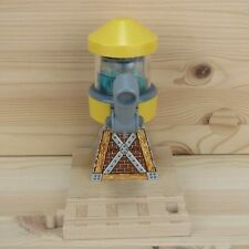 YELLOW WATER TOWER - THOMAS WOODEN TRAIN TRACK ACCESSORY - 2003 LEARNING CURVE