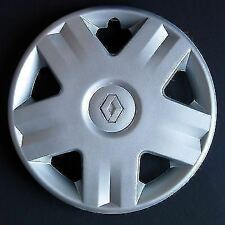 "Renault Clio Megane Scenic Style ONE 14"" Wheel Trim Silver RE 417AT 14"""