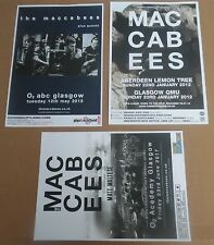 The Maccabees - collection of 3 posters live show tour concert gig poster joblot