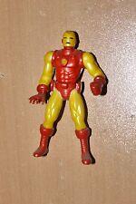 1994 Spider-Man Marvel Universe poseable IRON MAN Die-Cast MINI FIGURE TOY BIZ