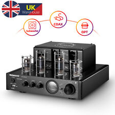 More details for hifi bluetooth hybrid tube power amplifier stereo subwoofer amp usb/opt/coax