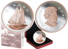 2018 Big Coin Series - 5 oz. Pure Silver Coin Bluenose - 10-Cent 99.99%