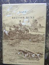 FOXHUNTING HOUNDS BELVOIR HUNT LAYS POEMS HUNTING FOX RUTLAND