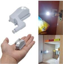 Cabinet Hinge LED Sensor Light For Wardrobe Cupboard Home Kitchen Door Closet