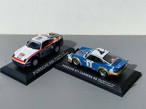 RALLY 1/43 IXO ALTAYA PORSCHE 911 CARRERA RS 959 NICOLAS METGE DAKAR MONTE WRC