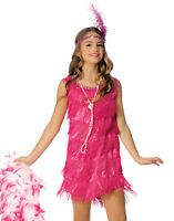 Pink Flapper Great Gatsby 1920'S Jazz Costume
