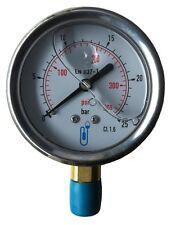 Radial Sec 0-10 Bars Manometre Contrôle de Pression Réseau 30MANCONT10